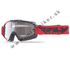 2642cbc22 Motocrosové okuliare Fly Racing RS čierno červená