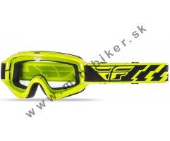 233ae46c3 Motocrosové okuliare Fly Racing Focus neon-žltá