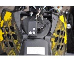 d79d45b6c Detská štvorkolka 49 cc, Atomic Edition, poloautomatické štartovanie,  tunigový karburátor a spojka, športový výfuk, elektrický štartér na  diaľkové ovládanie ...