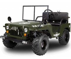 Mini Jeep Willys 150 ccm