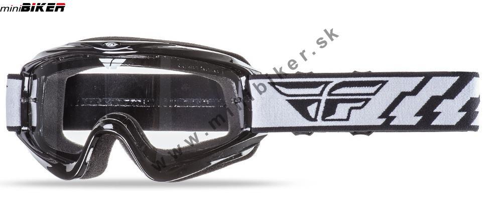 fd3c9e3b5 Okuliare - Motocrosové okuliare Fly Racing Focus čierna -