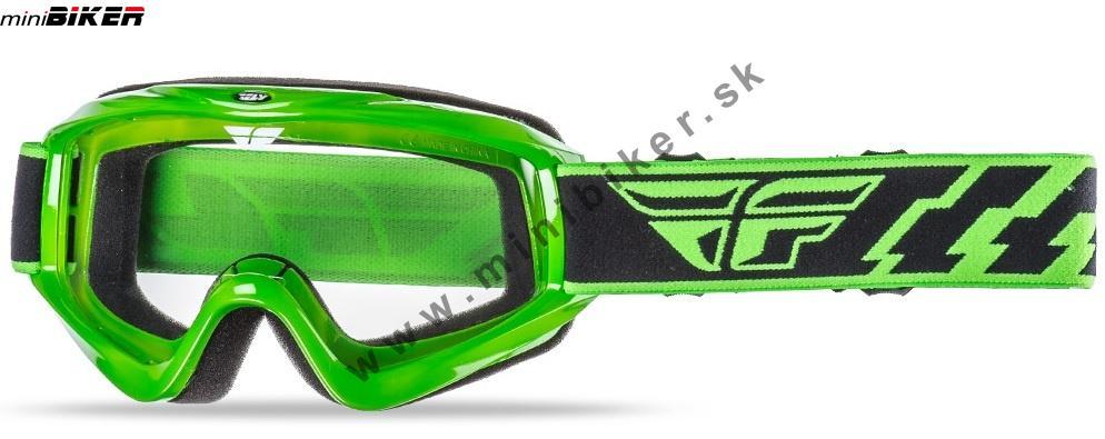 f353aadc0 Okuliare - Motocrosové okuliare Fly Racing Focus zelená -